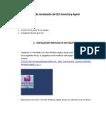 Manual de Instalación de OCS Inventory Agent