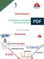 Mediciones en Alumbrado Publico 2012
