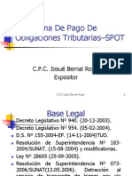 CCPL Detracciones Bienes y Servicios