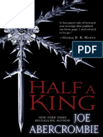 Half a King by Joe Abercrombie, 50 Page Friday