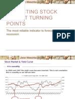 Predicting Stock Market Turning Points