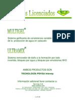 Ultramix y Multigel