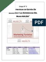 Las estrategias de Gestión del marketing y las experiencias en MALBA