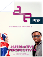 Alternative Perspectives Conference Programme