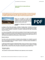 Tindouf _ L'Armée Algérienne Encercle Un Camp Suite Aux Manifestations d'Une Tribu Sahraouie