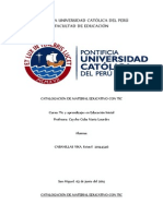 Catalogación de Tic en Educación Inicial