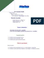 Proiect Didactic -Aruncarea Greutatii, Handbal Cls X-A E