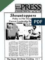 The Stony Brook Press - Volume 5, Issue 8