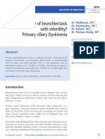 A Case of Bronchiectasis