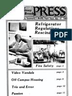 The Stony Brook Press - Volume 5, Issue 10