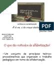 Alfabetizao - métodos