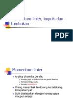 Momentum Linear & Impuls