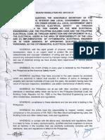 2012 IIEE Board Resolution No 2012-03-31