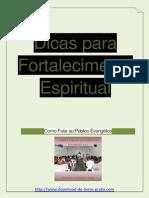 Brinde Dicas Para Fortalecimento Espiritual