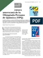 Revista Olimpiada Peruana de Quimica 2012