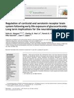 Regulation of Corticoid and Serotonin Receptor Brain