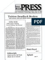 The Stony Brook Press - Volume 5, Issue 20