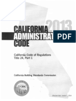 California design codes