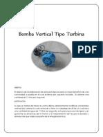 Bomba Vertical Tipo Turbina