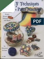 Carlson, Maureen - Clay Techniques With a Pasta Machine