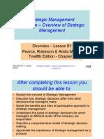 Strategic Management - Lesson 01 - Overview [Compatibility Mode]