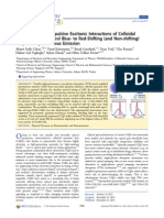 Attractive Versus Repulsive Excitonic Interactions of Colloidal