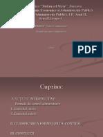 Control Administrativ APII