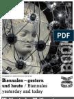 Biennalen – gestern und heute / Biennales yesterday and today