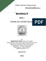 Barua Barhut 1 Stone as a Story Teller