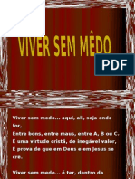 VIVER SEM MÊDO