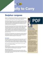 Sulphur Cargoes