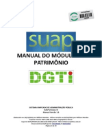 Manual Do Patrimonio SUAP