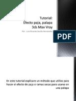 Tutorial Efecto Paja, Palapa 3ds Max Vray