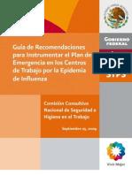 Recomendaciones Influenza