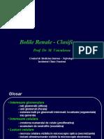 Bolile Renale - Clasificare
