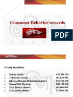 Consumer Behavior - Deshal