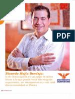 Entrevista al diputado federal Ricardo Mejía Berdeja