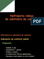 Nefropatia indusa de substante de contrast