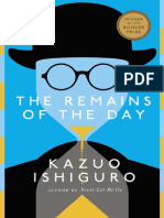 Remains of the Day by Kazuo Ishiguro