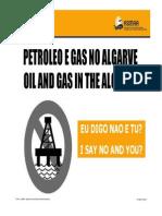 SAY NO TO OIL IN ALGARVE PRESENTATION