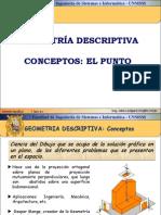 Diseño Gráfico - Geometría Descriptiva, El Punto