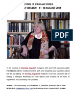 Fay Weldon Reading and Workshop