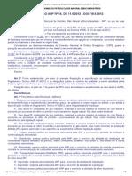 Resolução ANP 14 - 2012