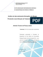 Analise Do Aproveitamento Energetico Do Biogas Produzido Numa Estacao de Tratamento de Esgoto
