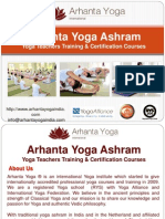 Arhanta Yoga Ashram India - Training And Certification