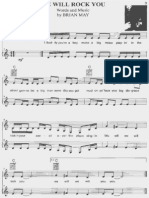 Queen Partituras Para Piano e Voz PDF
