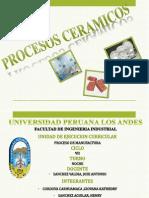 PROCESOS CERAMICOS PPT