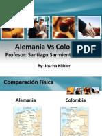 Comparacion Alemania Colombia