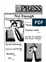 The Stony Brook Press - Volume 6, Issue 10