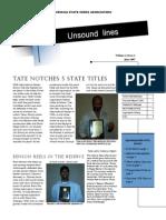 ISCA Unsound Lines Vol. 1, No. 1 Jun 2007